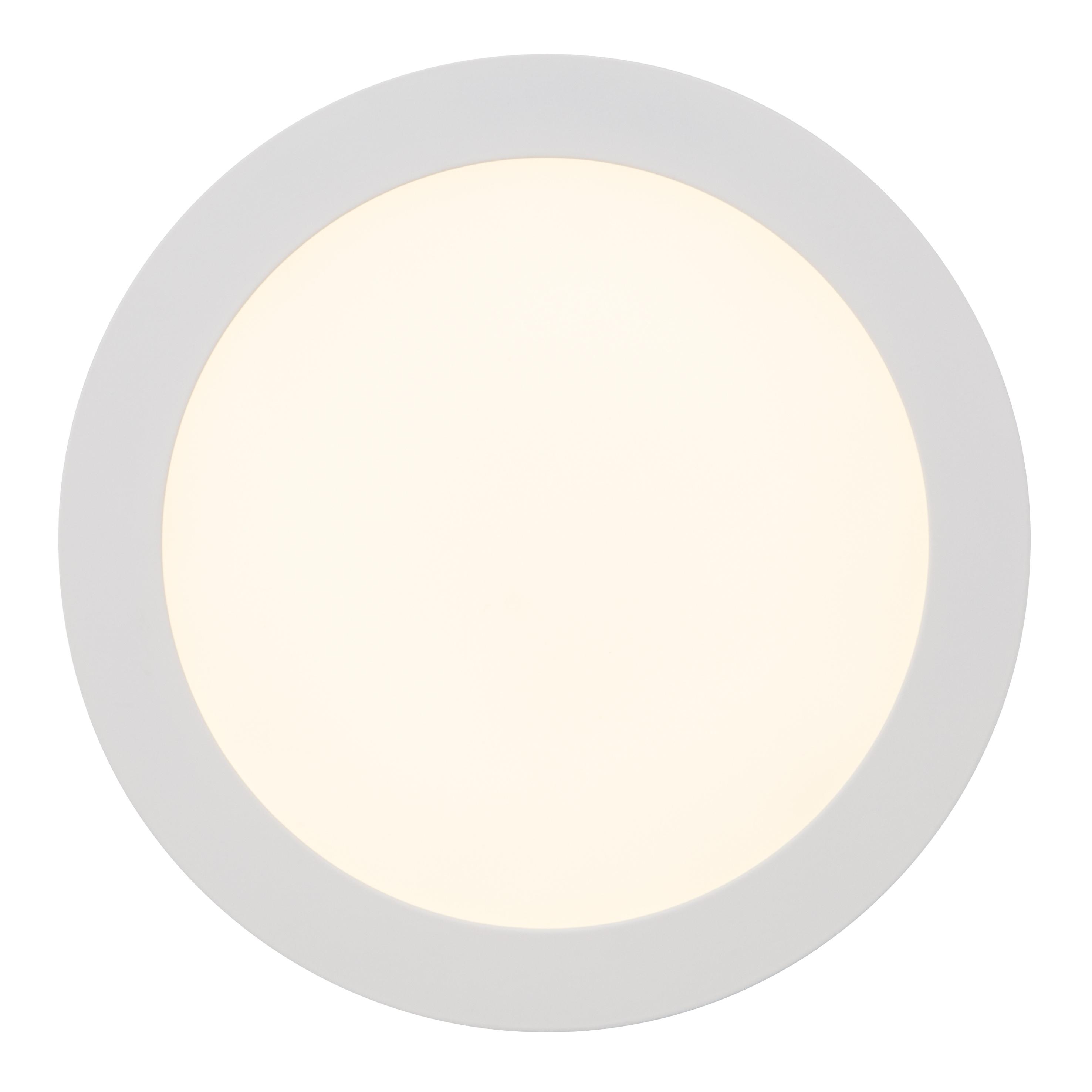 Brilliant Leuchten Laureen LED Einbauleuchte 23cm fest weiÃY