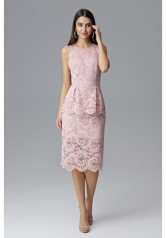 FIGL Kleid aus Spitze mit Schößchen - Detail kaufen