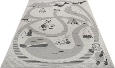 Lüttenhütt Kinderteppich »Max«, rechteckig, 3 mm Höhe, Straßen-Spielteppich, In- und... kaufen