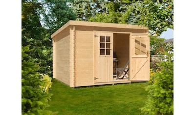 Kiehn - Holz Gartenhaus »Hummelsee 1«, BxT: 287x244 cm, inkl. Fußboden kaufen