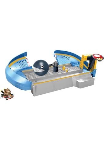 Hot Wheels Spiel-Gebäude »Mario Kart Kettenhunde Trackset«, inklusive Donkey Kong... kaufen