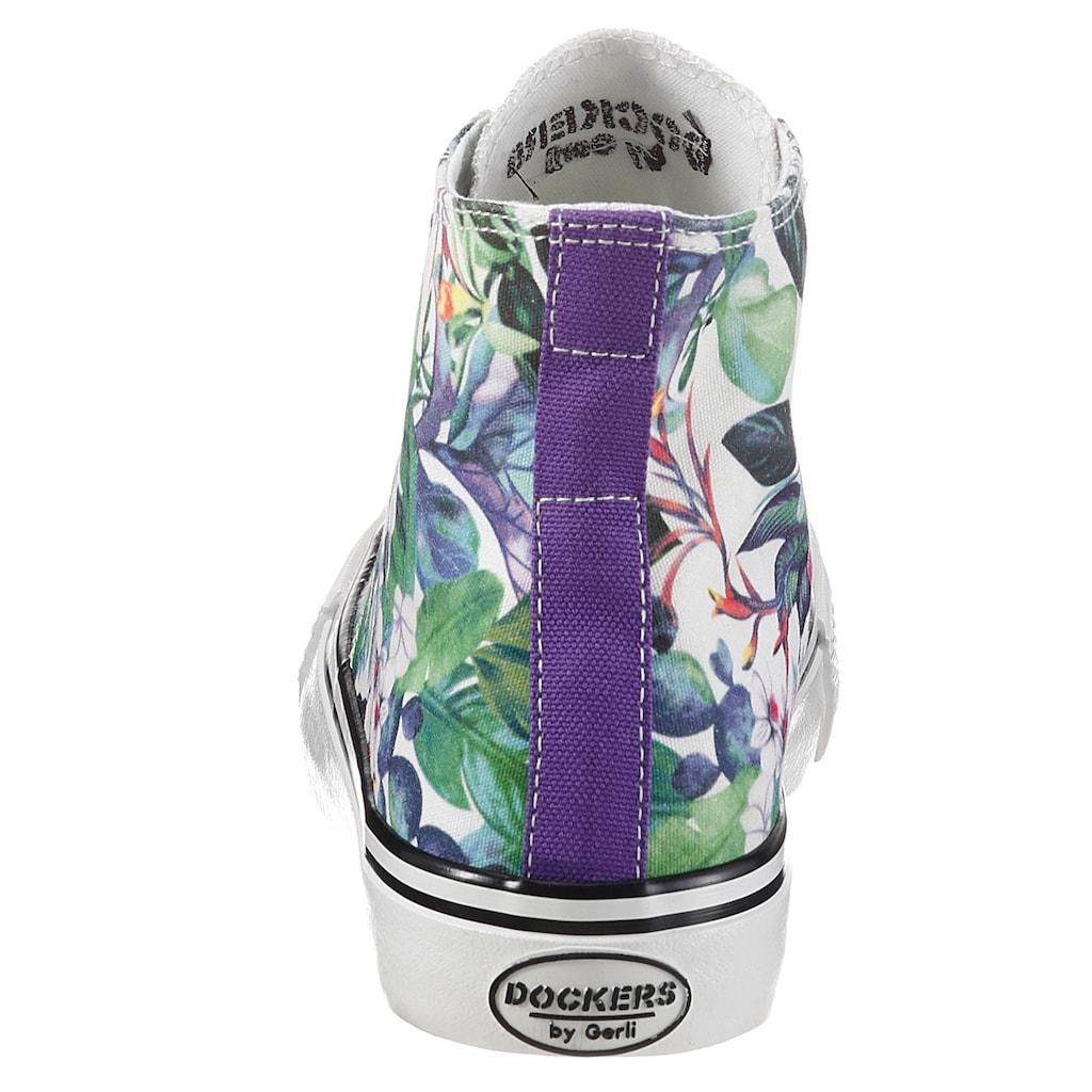 Dockers by Gerli Sneaker, mit floralem Druck
