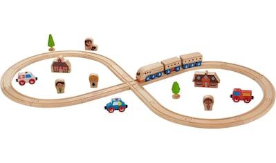 "EverEarth® Spielzeug - Eisenbahn ""Eisenbahn - Set"" (Set, 32 - tlg.) kaufen"