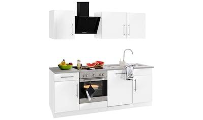 wiho Küchen Küchenzeile »Cali«, ohne E-Geräte, Breite 220 cm kaufen