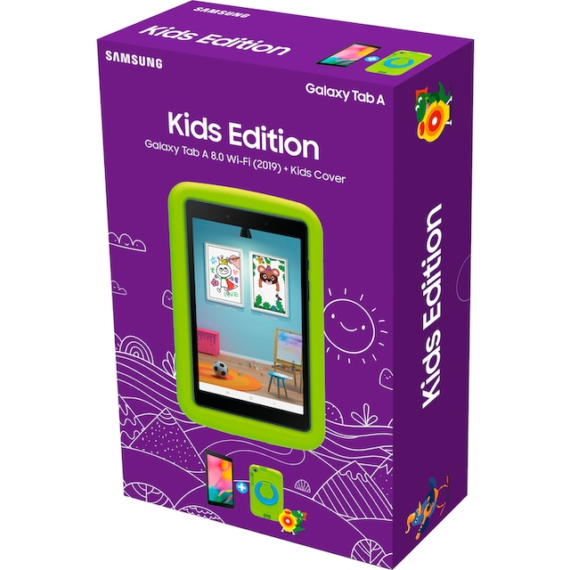 Samsung »Galaxy Tab A 8.0 Wi-Fi (2019) + Kids Cover« Tablet (8'', 32 GB, Android)