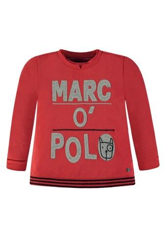Marc O'Polo Junior Langarmshirt Hundemotiv kaufen