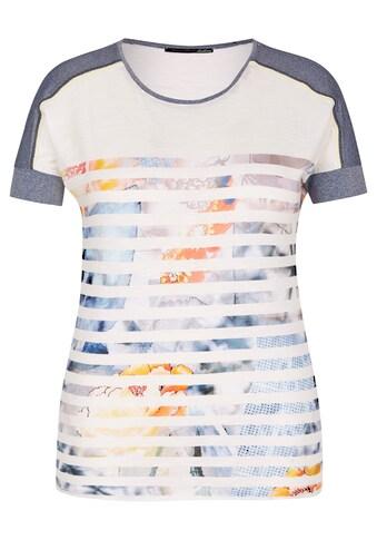 LeComte Shirt mit Allover-Print und Glitzereffekt kaufen