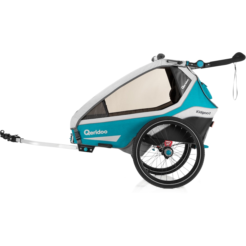 Qeridoo Fahrradkinderanhänger »KIDGOO 1«