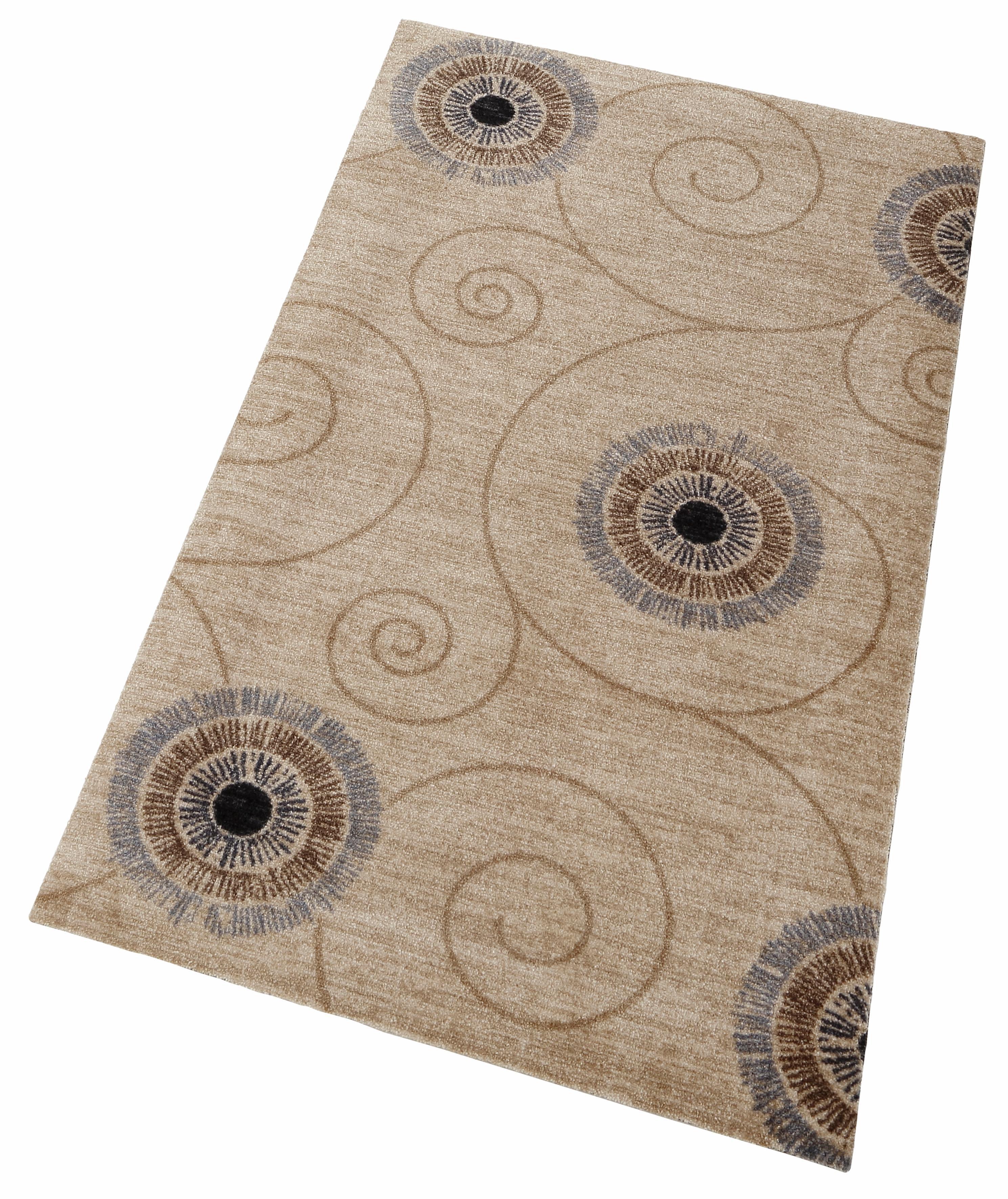 Teppich Chiaro wash+dry by Kleen-Tex rechteckig Höhe 9 mm gedruckt