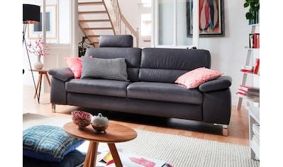 DELAVITA 3-Sitzer »Constanze«, wahlweise mit teilmotorischer Relaxfunktion kaufen