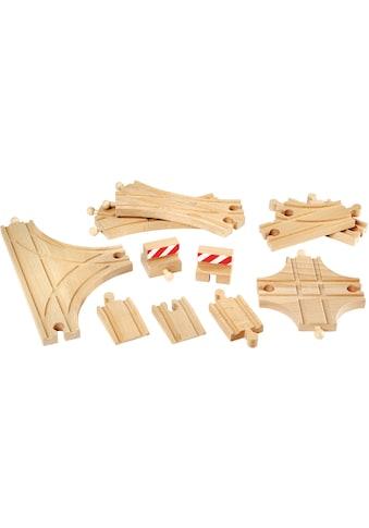 BRIO® Gleise-Set »Ergänzungsset Holzschienensystem, »Brio WORLD Schienen und... kaufen