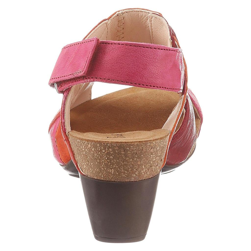 Think! Sandalette »Traudi«, mit Klettverschluss