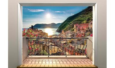 KOMAR Set: Fototapete »Vernazza«, Ausgezeichnet lichtbeständig kaufen