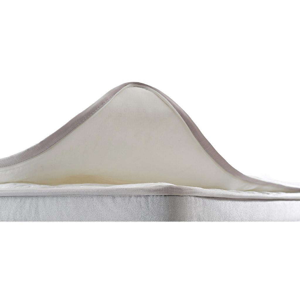 Yatas Taschenfederkernmatratze »Siena Expert«, (1 St.), 3 Härten System-Feder, unterstützt jede Körperform bis 120 kg, integrierter Gelschaum-Topper auf Oberseite