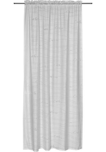 Gardine, »FD Cest la Vie 00«, freundin Home Collection, Stangendurchzug 1 Stück kaufen