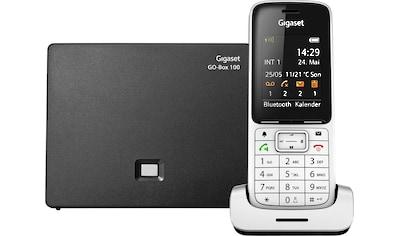 Gigaset Schnurloses DECT-Telefon »SL450 A GO«, (Mobilteile: 1 LAN (Ethernet)-Bluetooth), Anrufbeantworter, Weckfunktion, Freisprechen kaufen