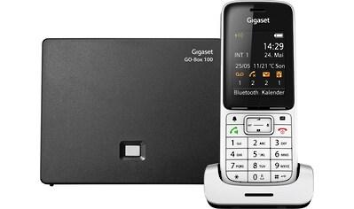 Gigaset »SL450 A GO« Schnurloses DECT - Telefon (Mobilteile: 1, LAN (Ethernet),Bluetooth) kaufen
