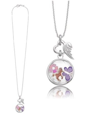 Herzengel Kette mit Anhänger »Schmetterling, Pferd, Blume als Symbol für Freude, HEN - GLAS - JOY« kaufen