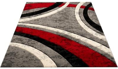 Teppich, »Jelva«, Home affaire, rechteckig, Höhe 18 mm, maschinell gewebt kaufen