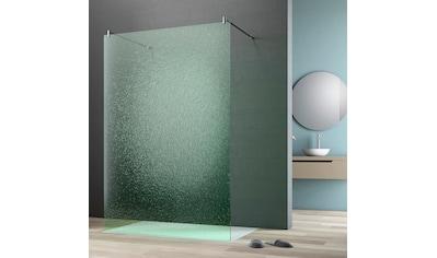 maw by GEO Walk-in-Dusche »flex A-W002CGR«, BxH: 140 x 200 cm, Crash-Glas Edelgrün kaufen