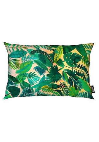 Dekokissen, »Jungle Leaf«, Juniqe kaufen