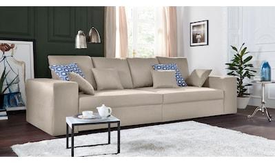 Nova Via Sofa, wahlweise mit Kaltschaum (140kg Belastung/Sitz) und Bettfunktion kaufen
