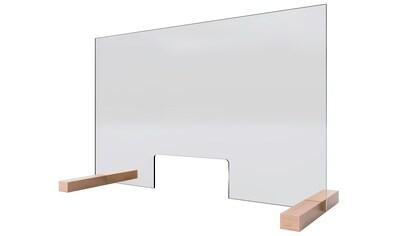 SCHULTE Stellwand »Glaswand«, (H x B): 475 x 750 mm, 5 mm starkes Sicherheitsglas (ESG) kaufen