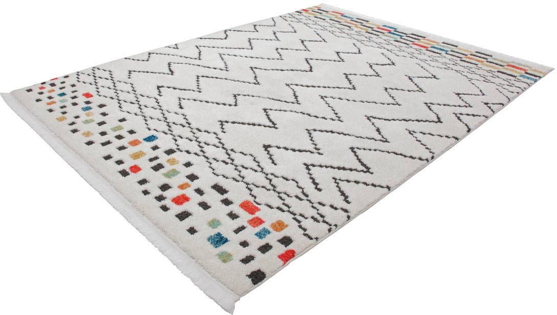 Teppich Agadir 410 Kayoom rechteckig Höhe 23 mm maschinell gewebt
