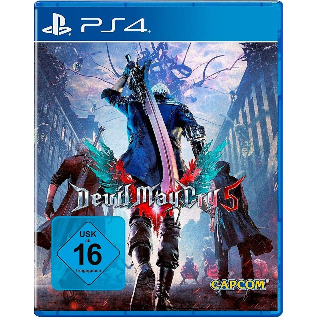 Capcom Spiel »DEVIL MAY CRY 5«, PlayStation 4, Software Pyramide