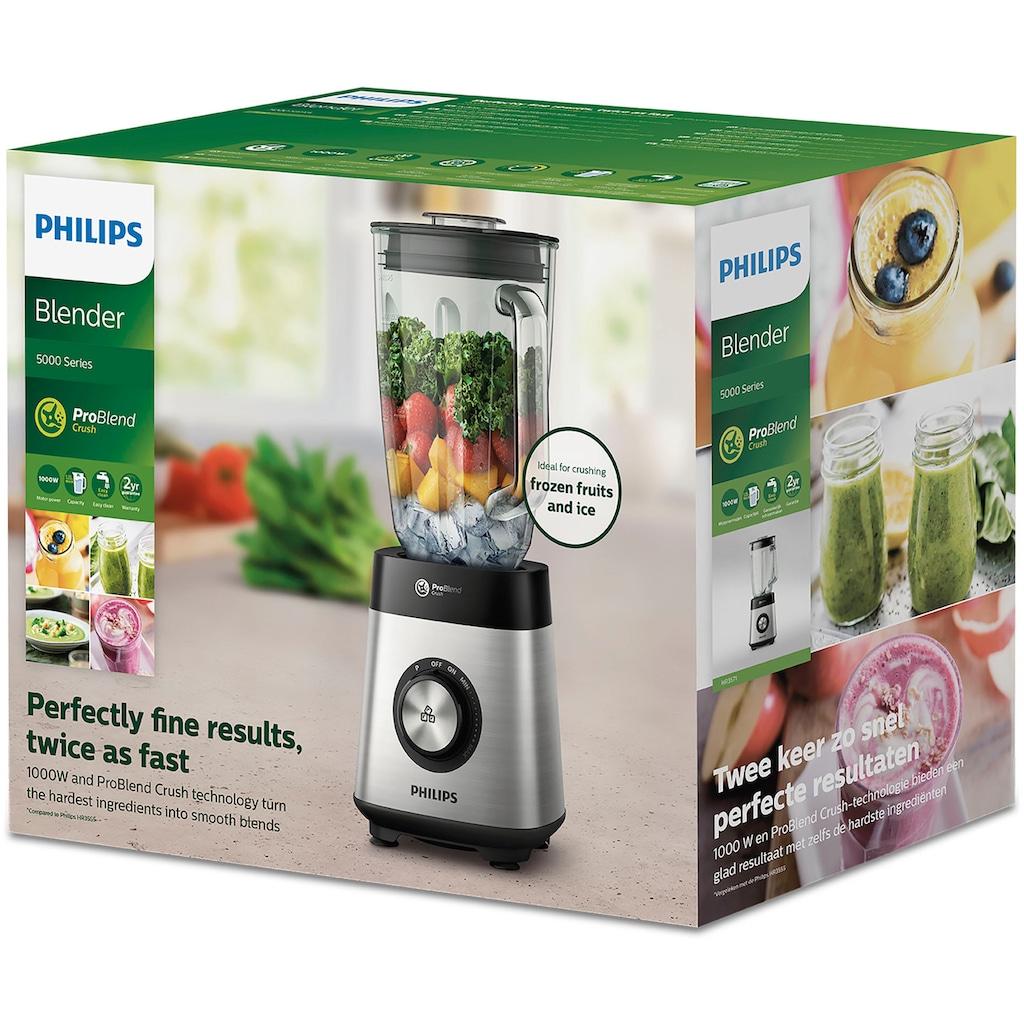 Philips Standmixer »Series 5000 Core HR3571/90«, 1000 W, ProBlend Crush Technologie