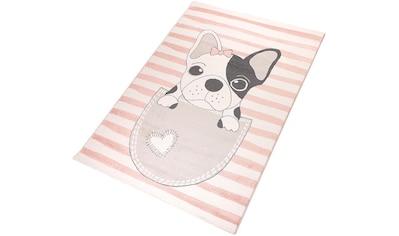 Living Line Kinderteppich »Puppy«, rechteckig, 12 mm Höhe, Spielteppich,... kaufen