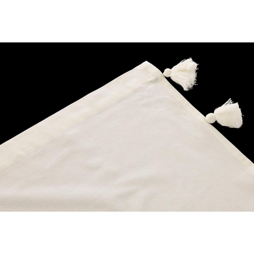 COUCH♥ Gardine »Troddel-Träumchen«, COUCH Lieblingsstücke