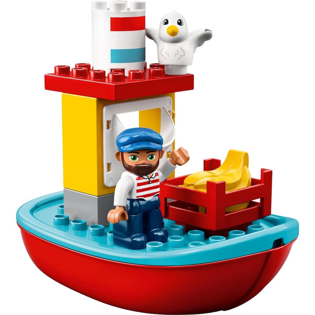 LEGO® Konstruktionsspielsteine »Güterzug (10875), LEGO® DUPLO® Town«, (105 St.)
