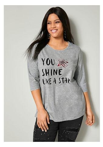 Angel of Style by Happy Size Shirt mit Schriftzug kaufen