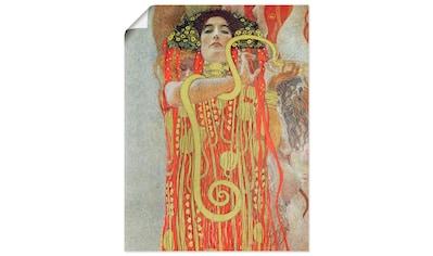 Artland Wandbild »Medizin«, Frau, (1 St.), in vielen Größen & Produktarten... kaufen
