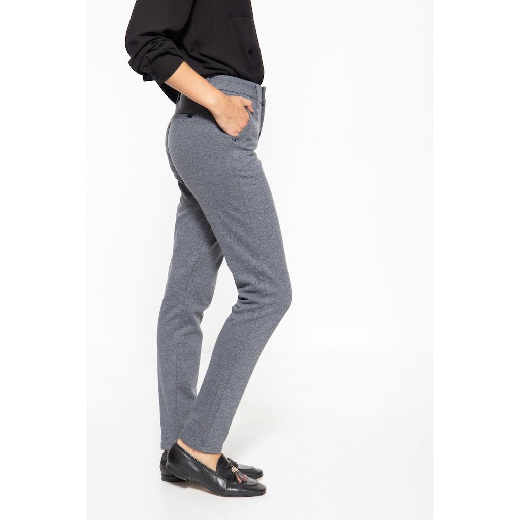 ATT Jeans Stretch-Hose »Sophie«, mit melierter Optik