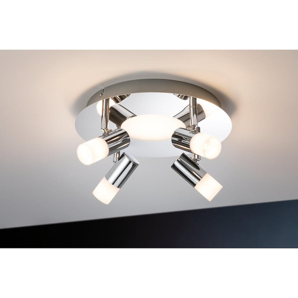 Paulmann LED Deckenleuchte »Spot Chrom G9 Silberfarben Lagoon Rondel ohne Leuchtmittel, max. 10W«, G9, 1 St., Warmweiß