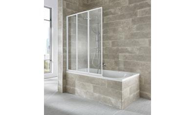 WELLTIME Badewannenaufsatz »Nassau«, 3 - tlg., weiß kaufen