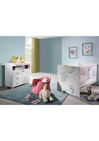 rauch ORANGE Babymöbel-Set »Vancouver«, (Spar-Set, 2 St.), Bett + Wickelkommode kaufen
