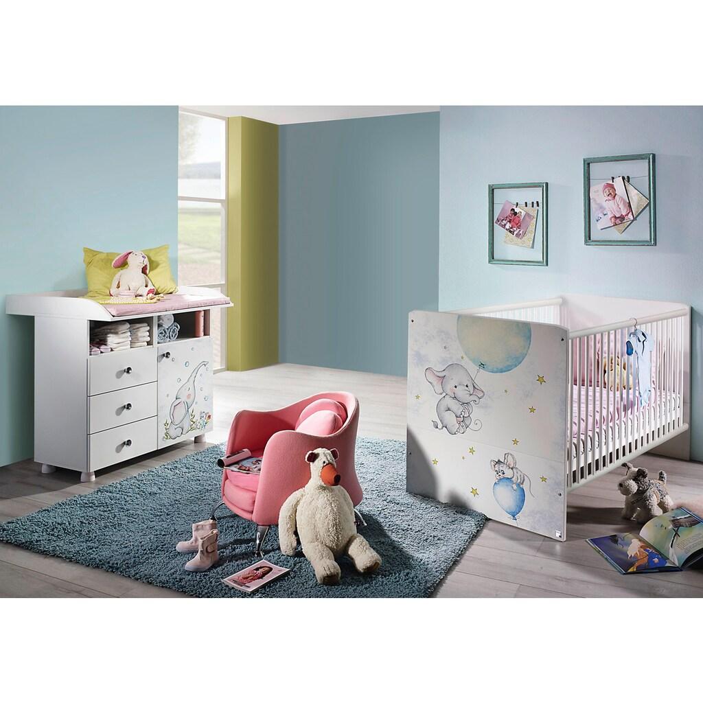 rauch ORANGE Babymöbel-Set »Vancouver«, (Spar-Set, 2 St.), Bett + Wickelkommode