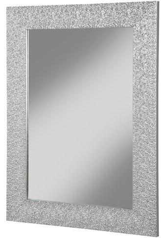WELLTIME Spiegel »Miro«, Badspiegel silberfarben, 80 x 60 cm kaufen