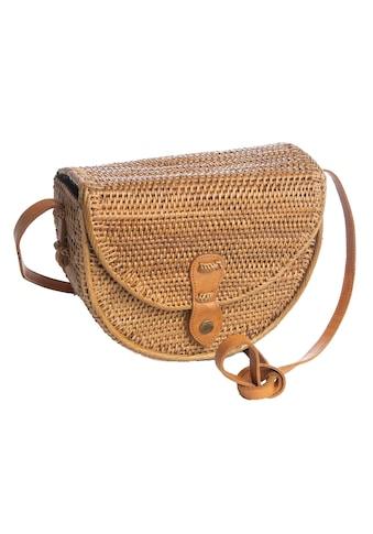 CASSANDRA Korbtasche in halbrunder Form kaufen