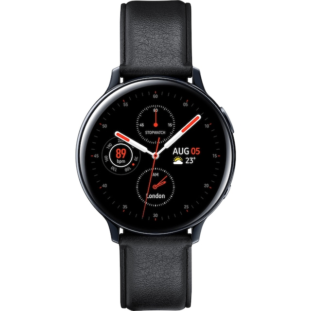 Samsung Galaxy Watch Active2 Edelstahl, 44 mm, Bluetooth (SM-R820) Smartwatch (3,4 cm / 1,4 Zoll)