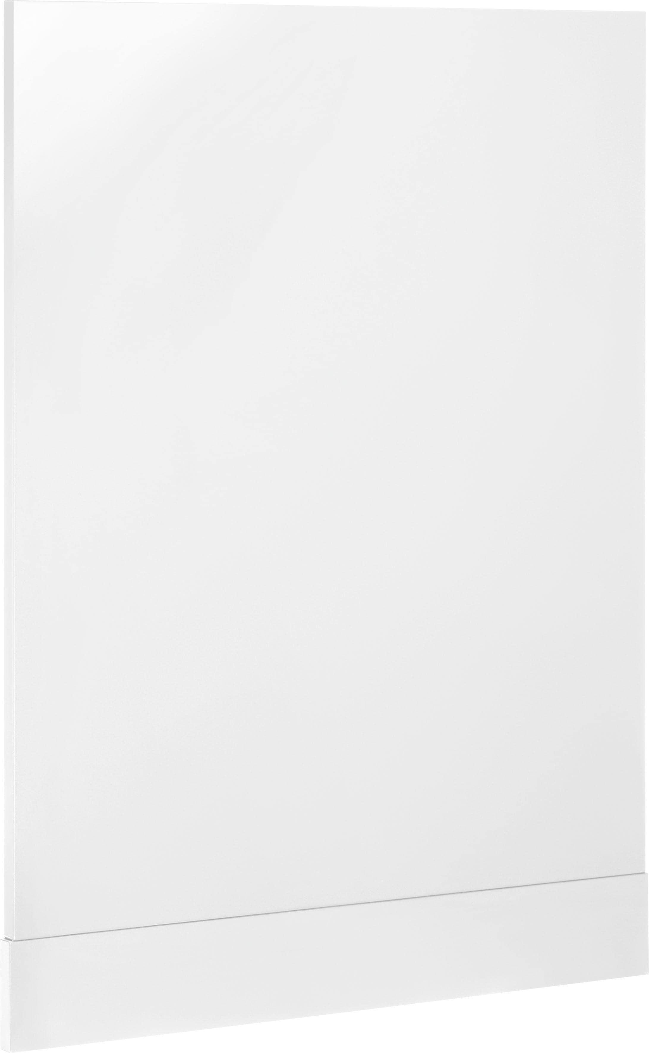 WIHO Küchen Tür/Sockel Cali für teilintegrierbaren Geschirrspüler   Küche und Esszimmer > Küchenelektrogeräte > Gefrierschränke   Weiß   Melamin   Wiho Küchen