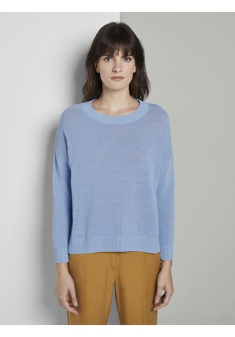 TOM TAILOR mine to five Longpullover »Schlichter Strickpullover« kaufen