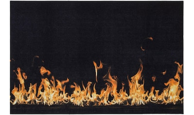 Andiamo Fußmatte »Flammen«, rechteckig, 5 mm Höhe, Schmutzfangmatte, Grillmatte bzw.... kaufen