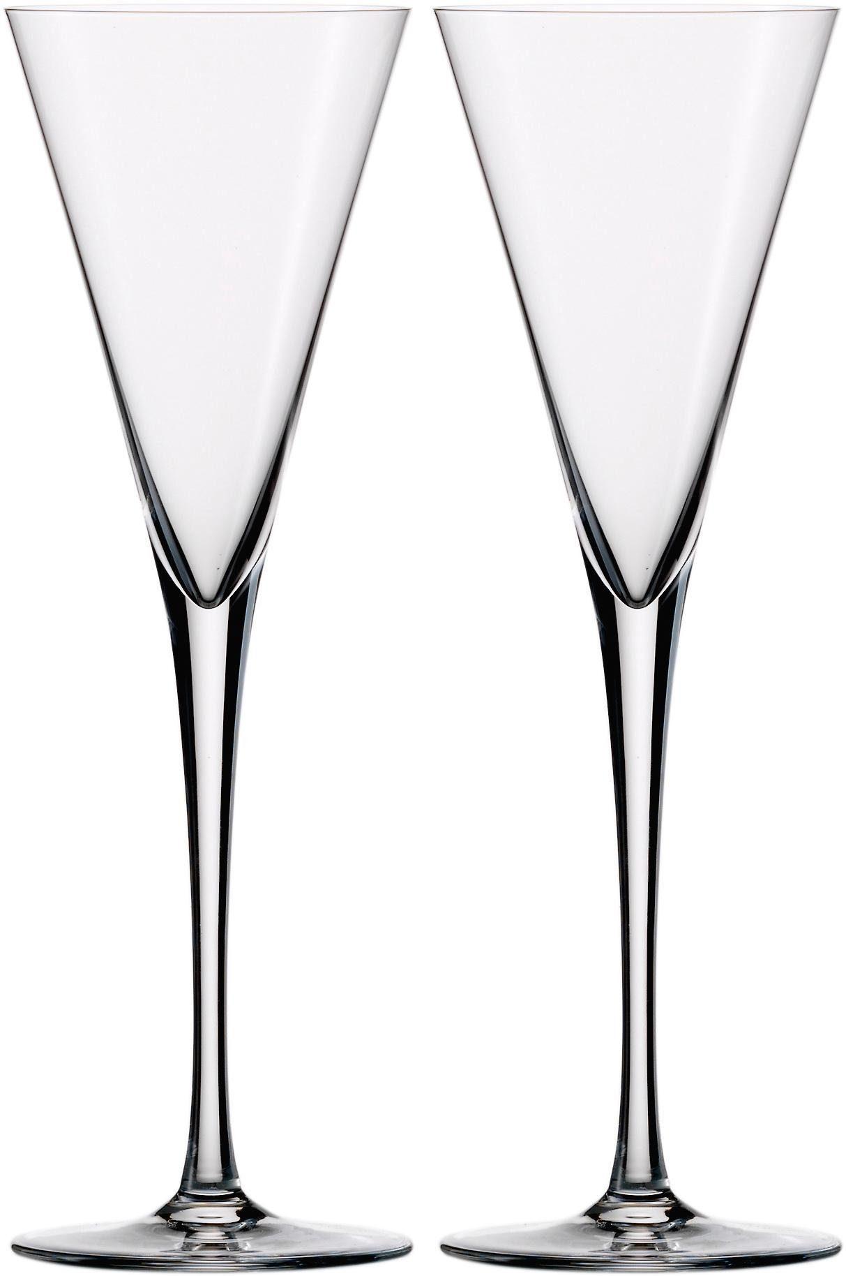 Eisch Sektglas Jeunesse, (Set, 2 tlg.), bleifreies Kristallglas, 180 ml farblos Kristallgläser Gläser Glaswaren Haushaltswaren