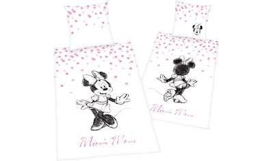 Walt Disney Wendebettwäsche »Minnie Mouse 2«, mit Minnie Mouse Motiv kaufen