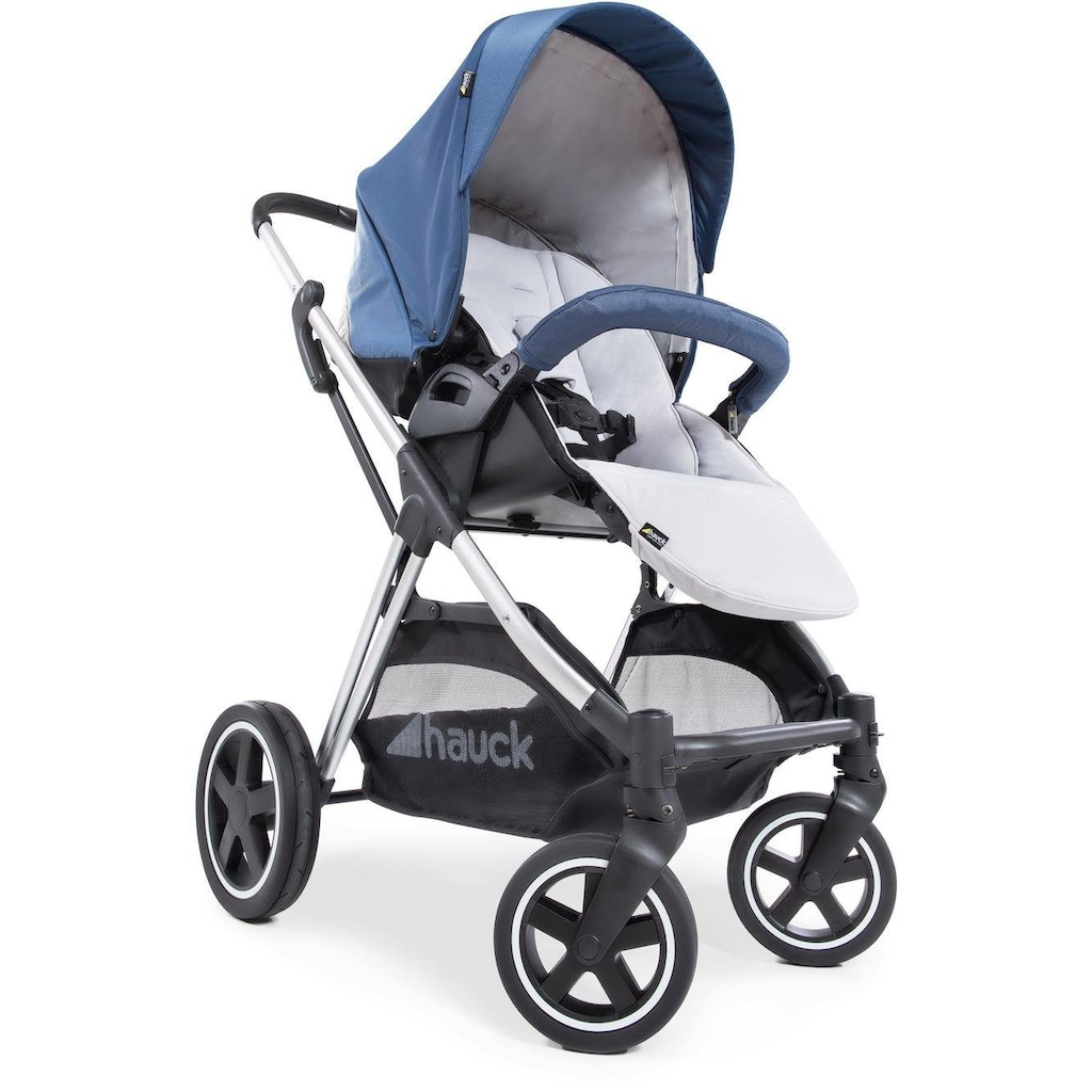 Hauck Kinder-Buggy »Mars, denim/silver«, mit Beindecke; Kinderwagen, Buggy, Sportwagen, Sportbuggy, Kinderbuggy, Sport-Kinderwagen