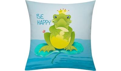 Kissenhülle, »Frog«, emotion textiles kaufen